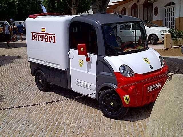 "Los Ferrari ""fuoriserie"""