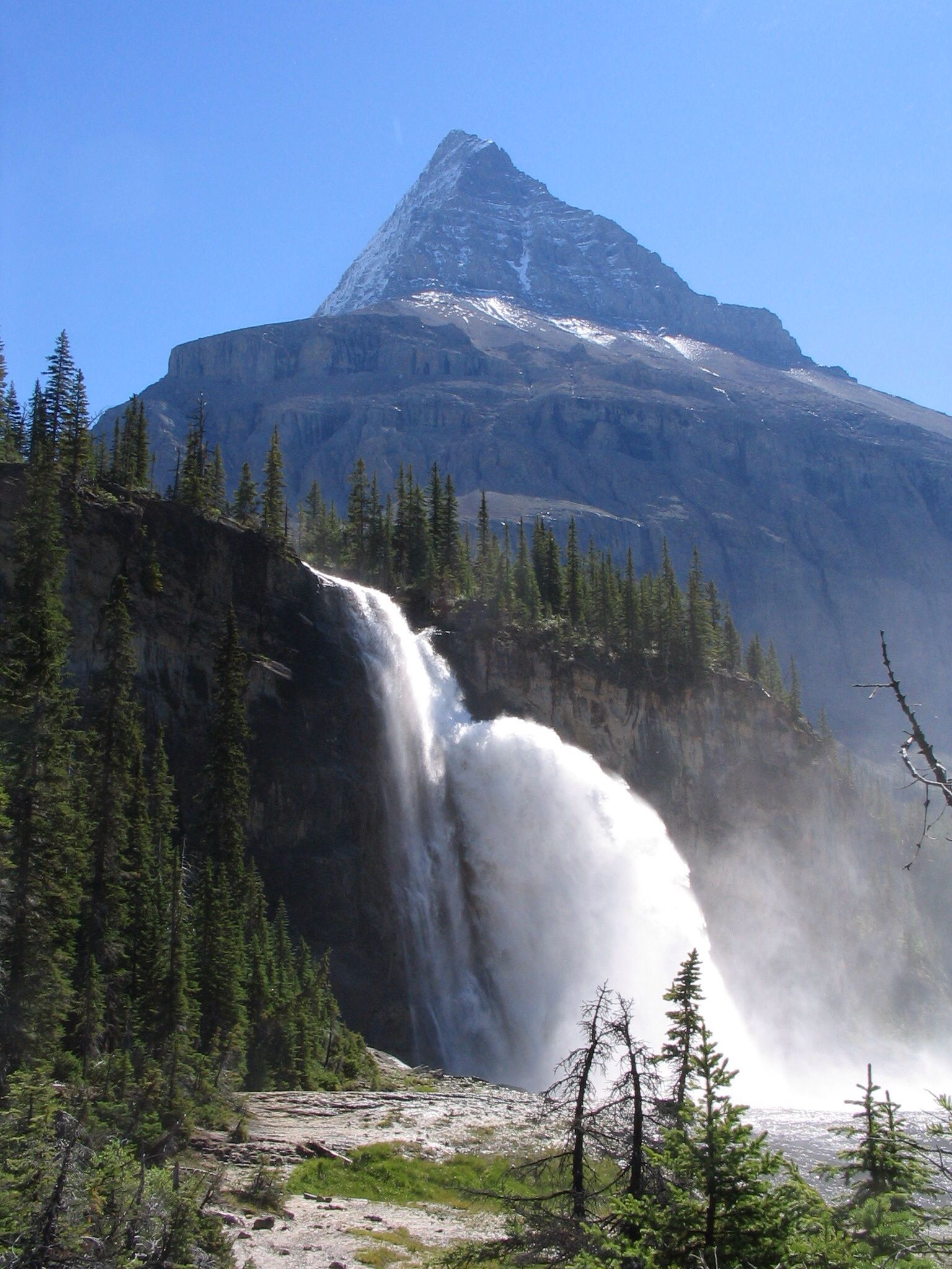 Emperor Falls is the largest and best known waterfall on