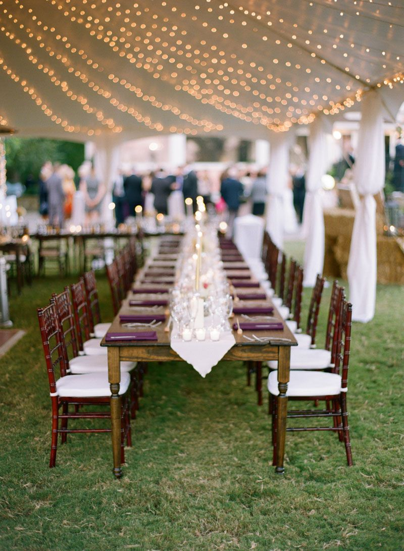 Farm Tables Mahogany Chiavari Chairs Father Of The Bride