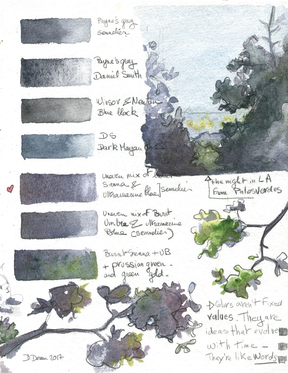Looking For Payne S Grey Watercolor Painting Techniques