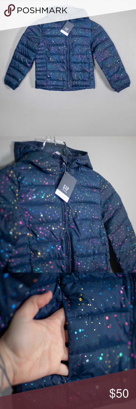 Nwt Gap Kids Coldcontrol Puffer Jacket S 6 7 Puffer Jackets Gap Kids Girls Jacket [ 1740 x 580 Pixel ]