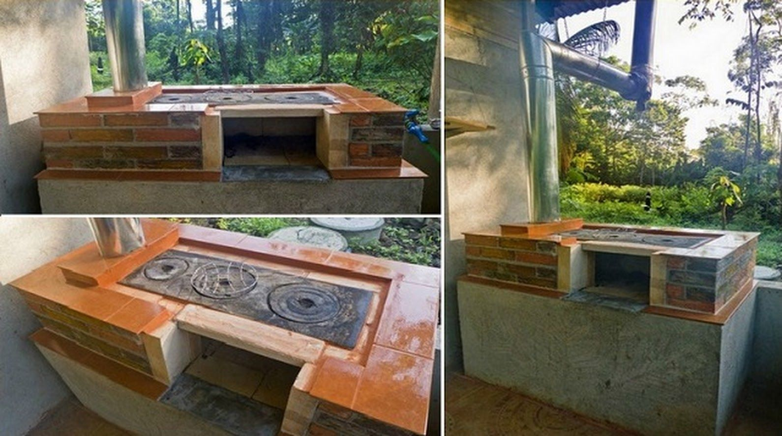 How to build your own diy outdoor wood stoveoven cooker grill and