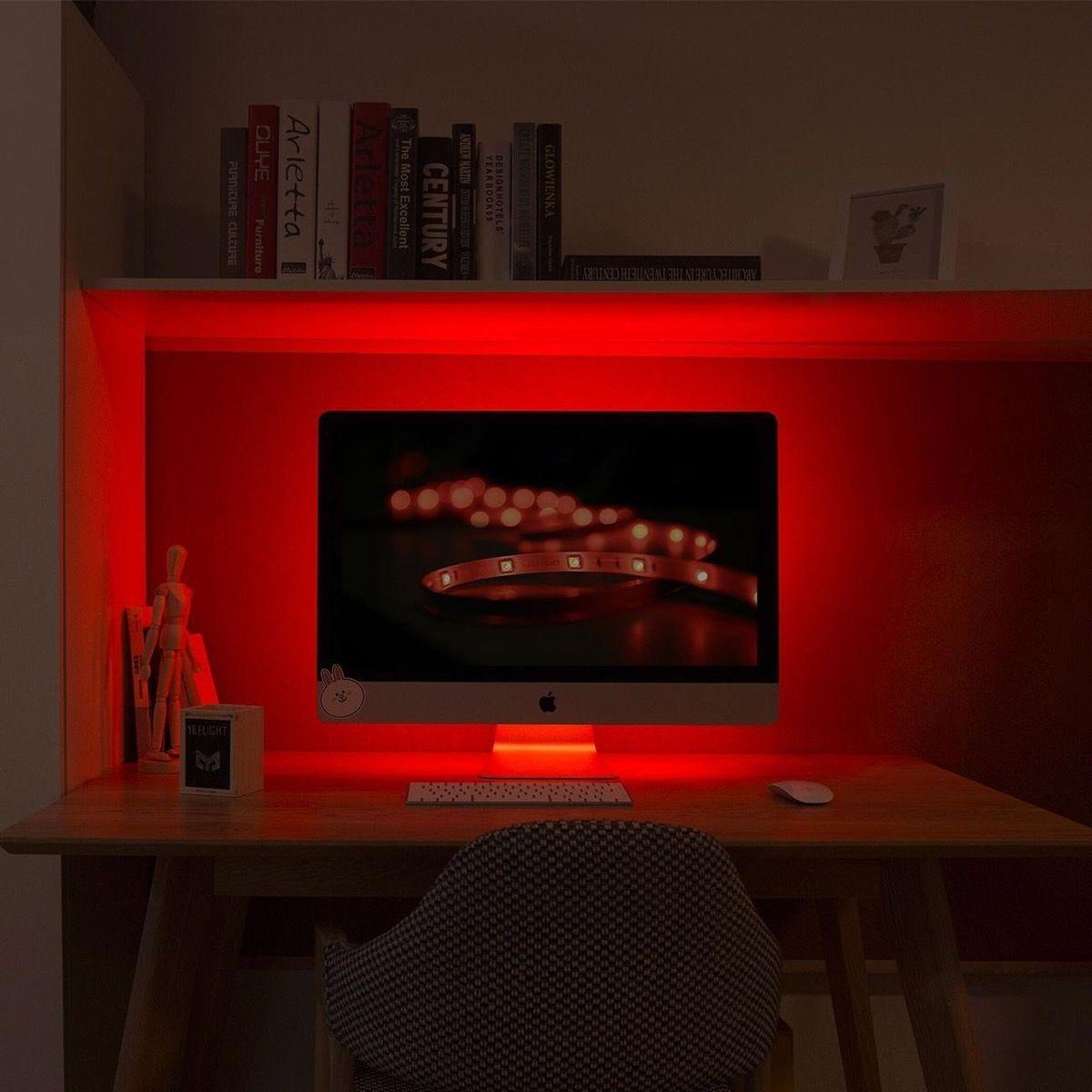 Product Of The Week Smart Led Light Strips For Mood Lighting Mood Light Bedroom Decorating Tips Home Office Design