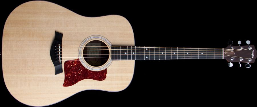 Taylor 110e Dreadnought Acoustic Electric Guitar Citra Intirama Distributor Alat Musik Dan Pro Audio Terbesar Di Indonesia Taylor Guitar Guitar Taylor S