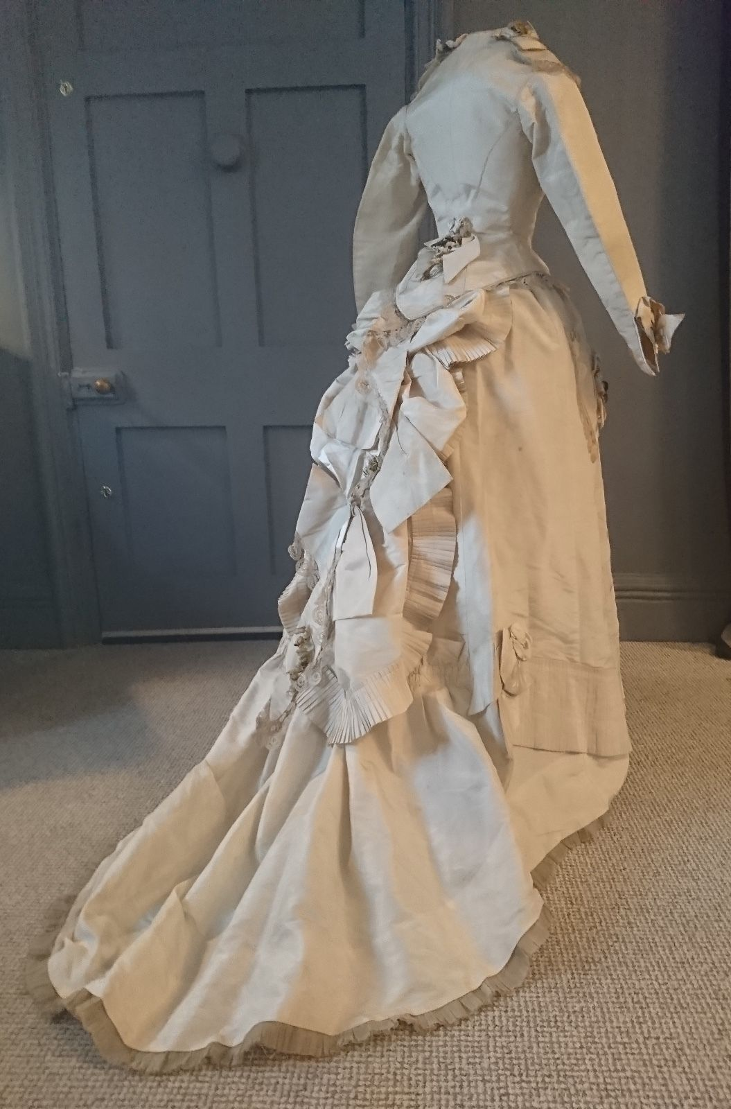 The bustle wedding dresses  Is swoonsome a word  This is just gorgeous A three piece bustle