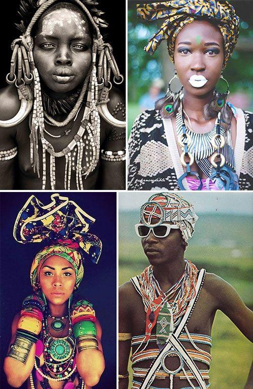 mode,accessoires et bijoux ethniques d'Afrique. African jewlery and fashion