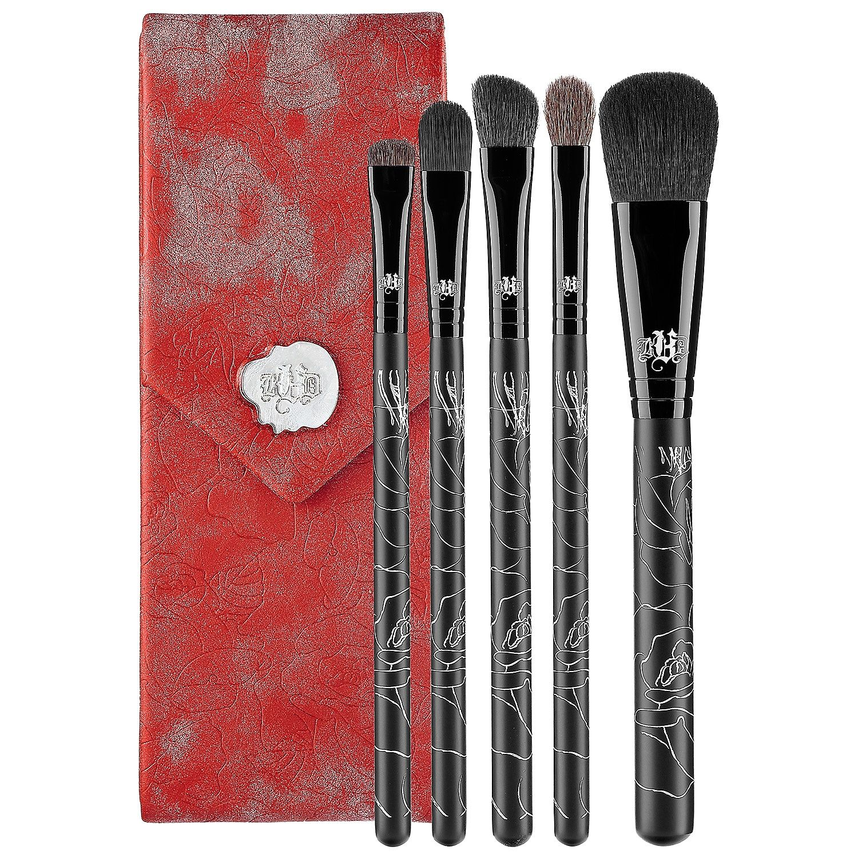 KVD Vegan Beauty 5 Piece Brush Set With Case Makeup at
