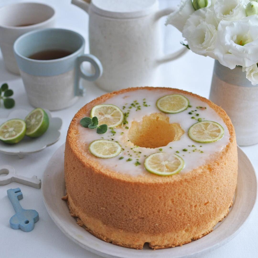 ケーキ デコレーション シフォン
