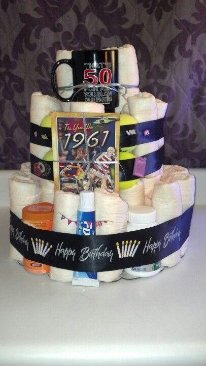 Adult Diaper Cake Diaper Cakes In 2019 Cake 50th