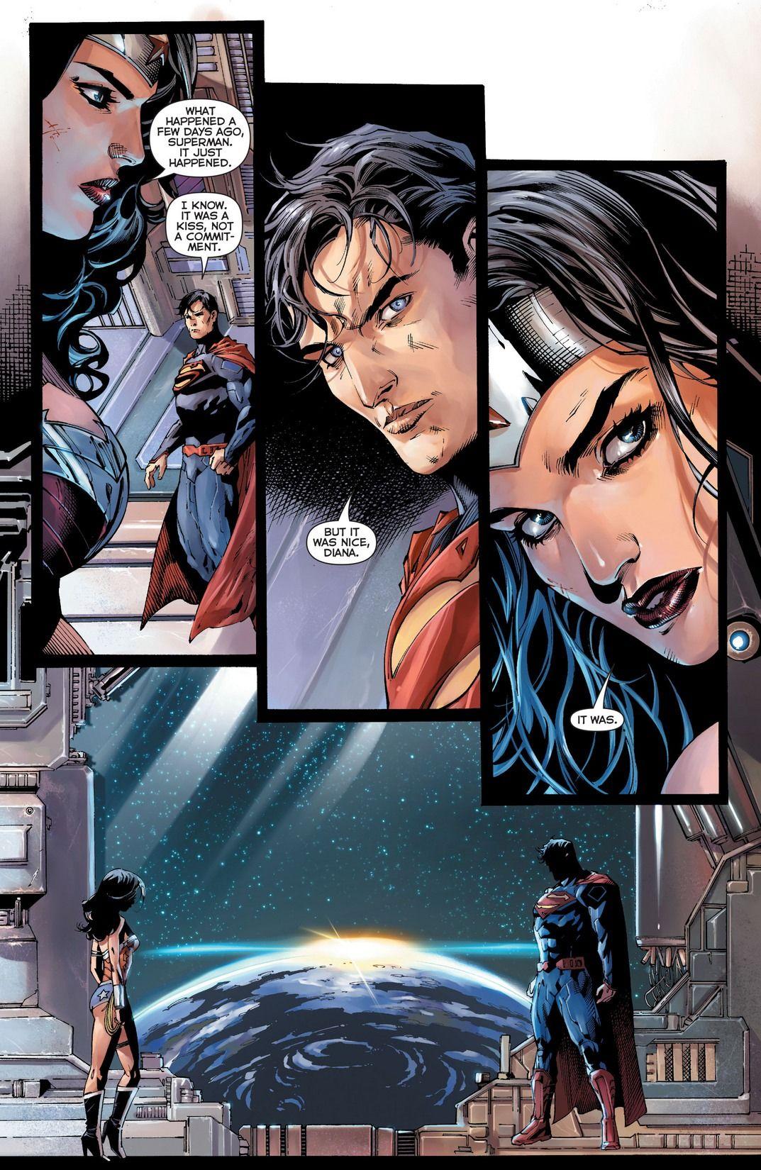 Relationship wonder woman superman Superman &