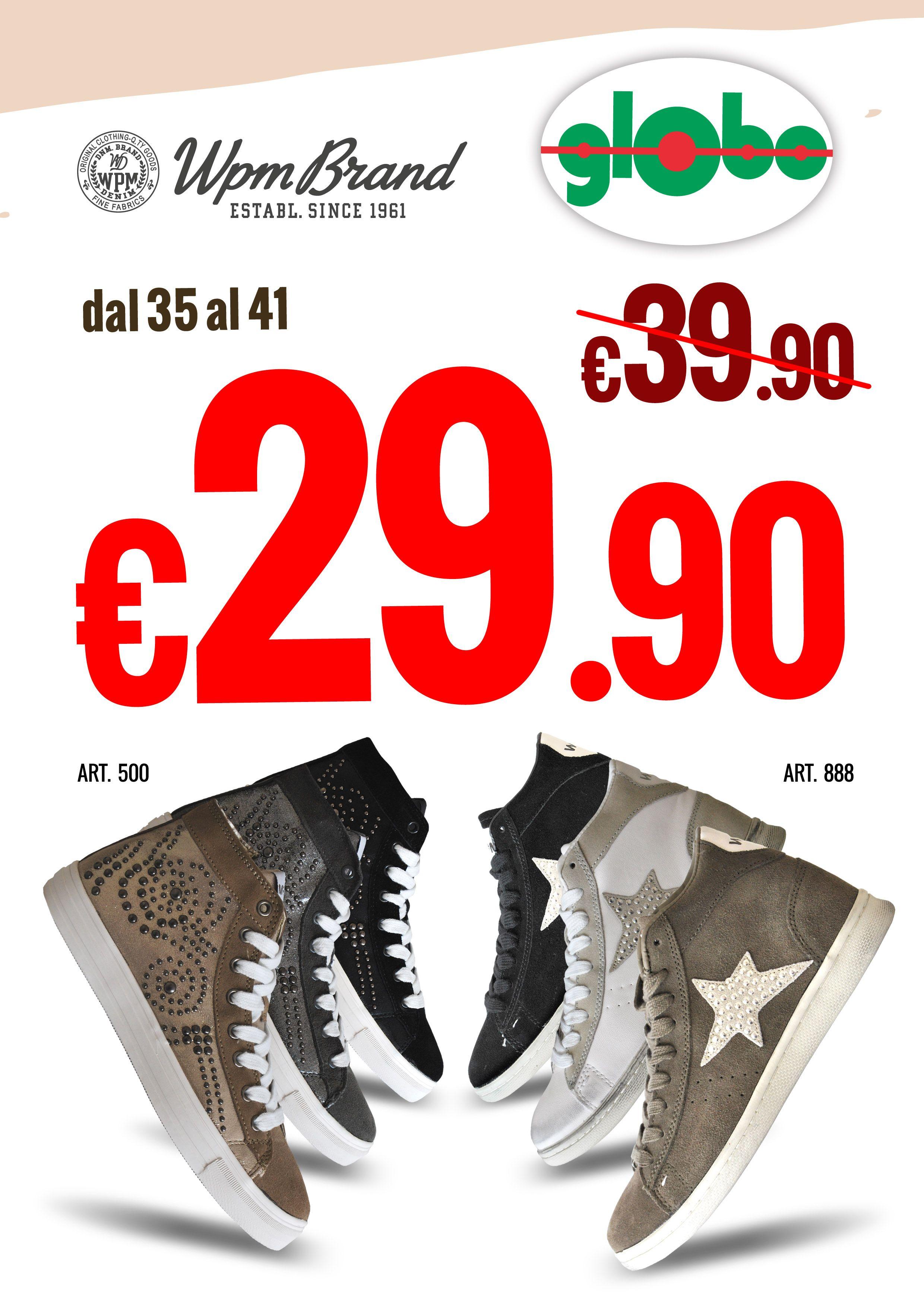 90Globo Company Calzature Donna € A ImperdibiliWampum 29 Logo OkPiZuTX