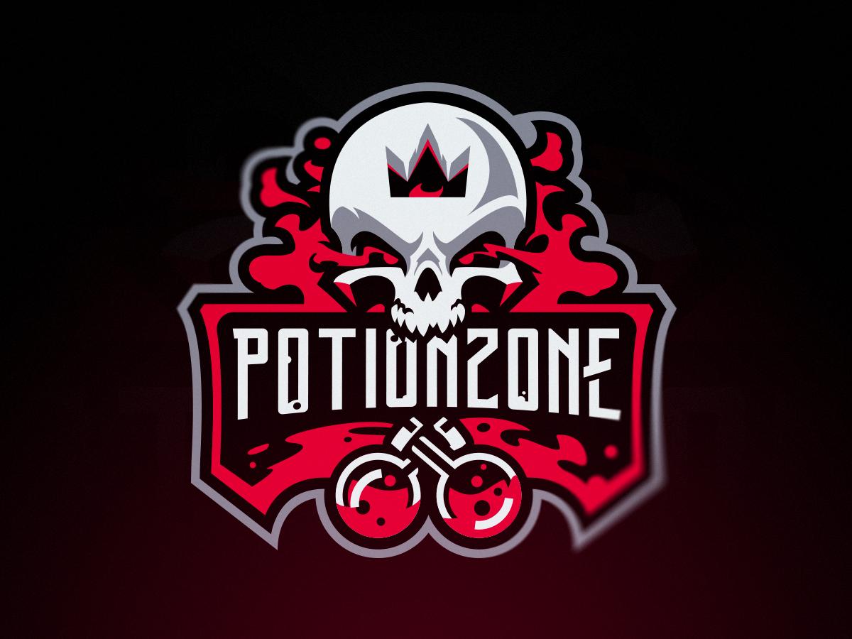 Potionzone In 2020 Game Logo Design Viking Logo Dribbble