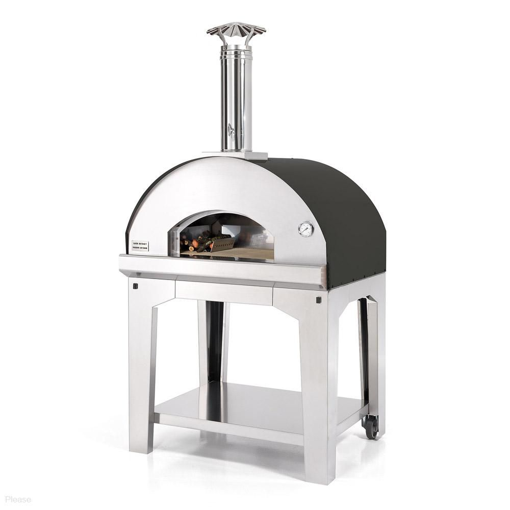 Fontana Forni Marinara Wood Fired Pizza Oven With Cart  # Muebles Bobrick