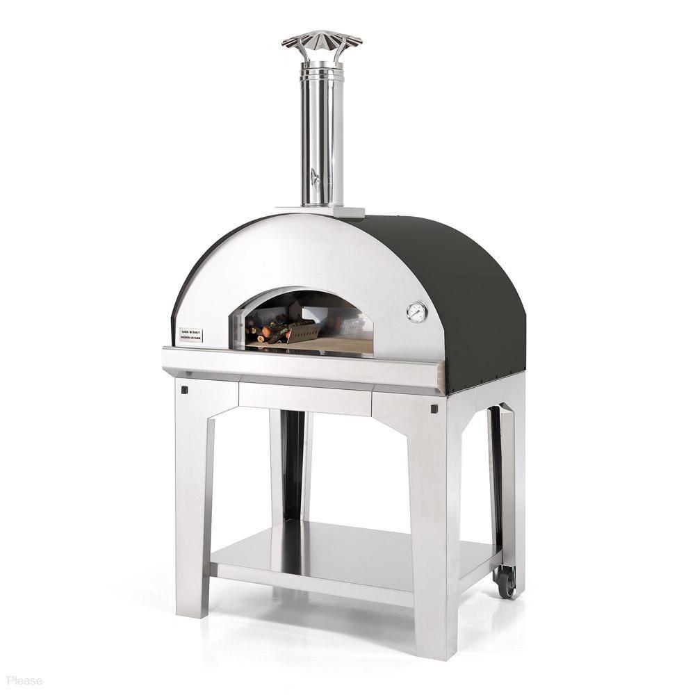 Fontana Forni Marinara Wood Fired Pizza Oven With Cart  # Muebles Bobrick