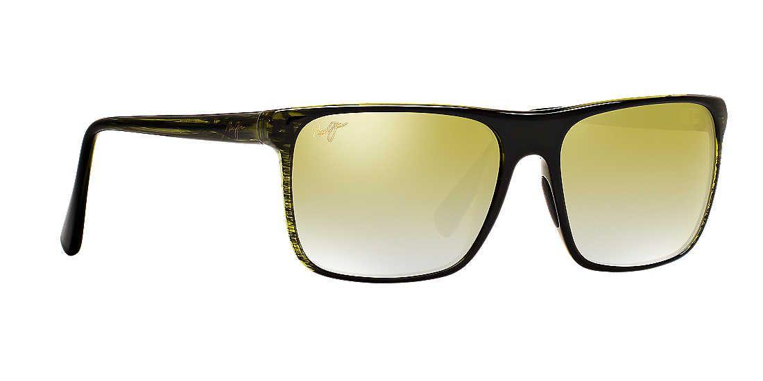 527c7c3ce53f Maui Jim 705 FLAT ISLAND 58 Green   Green Polarized Sunglasses ...
