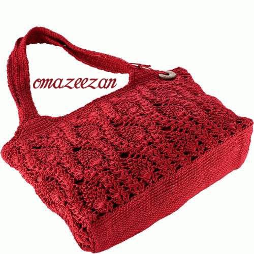 crochet bag @ Afshan Shahid   Beautiful Crochet Patterns   Pinterest ...