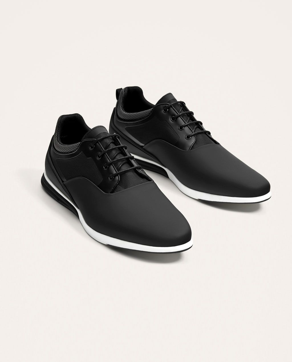 Image 1 of BLACK SNEAKERS from Zara Black Sneakers c7f6c3267
