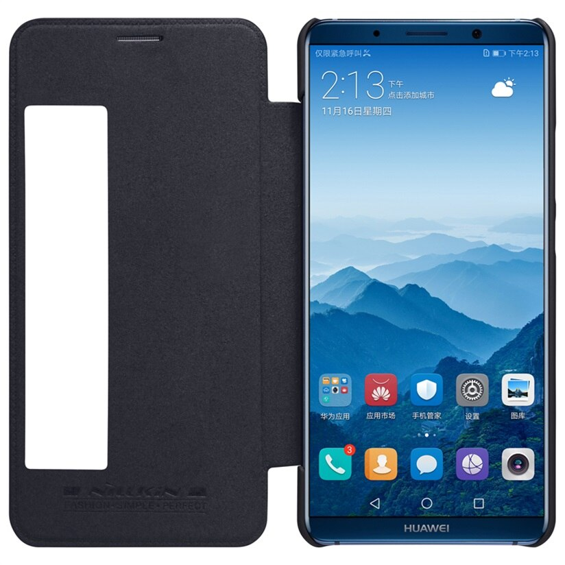 For Huawei Mate 10 Flip Case Huawei Mate 10 Pro Cover Qin Series Vintage Leather Flip Cover For Mate10 Pro Smart Wake Up In Flip Cases From Cellphones Telecom In 2020