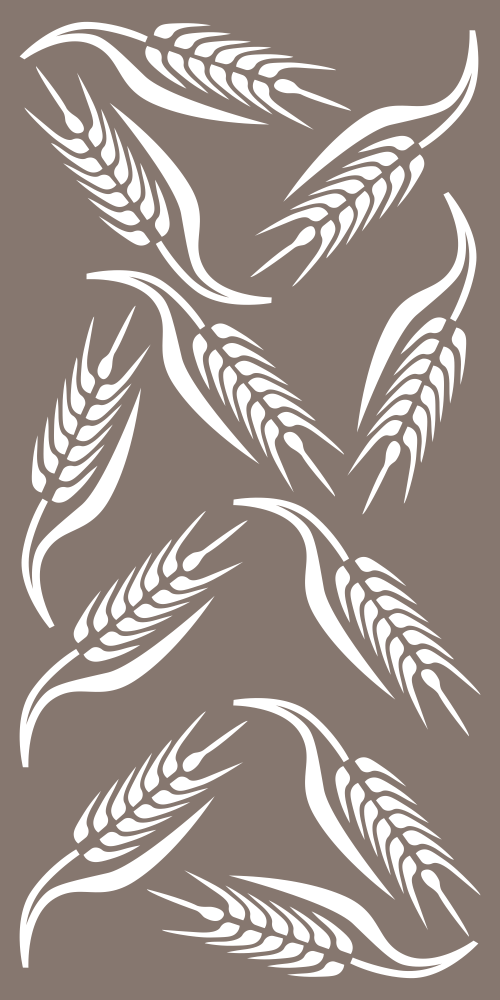 Wheat Pattern Vector Free Vector Cdr Download 3axis Co Glass Etching Patterns Stencil Patterns Church Banners Designs