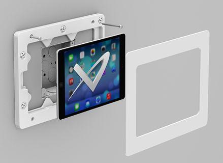 On Wall Ipad Android Galaxy Tab Tablet Enclosure Ipad Wall Mount Wall Tablet Tablet Wall Mount