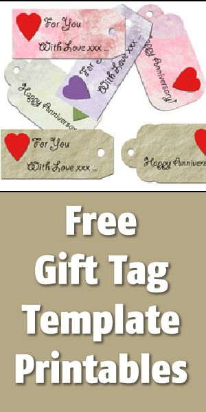 Free Gift Tag Printables Templates  Printables    Free