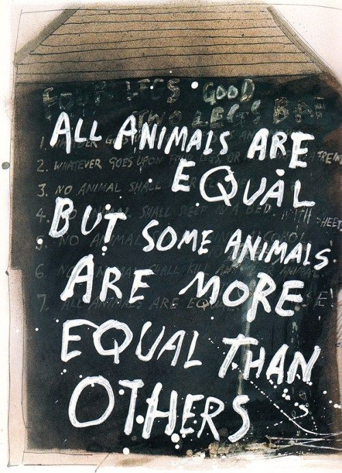 Animal Farm Quotes Awesome George Orwell's Animal Farm Illustratedralph Steadman