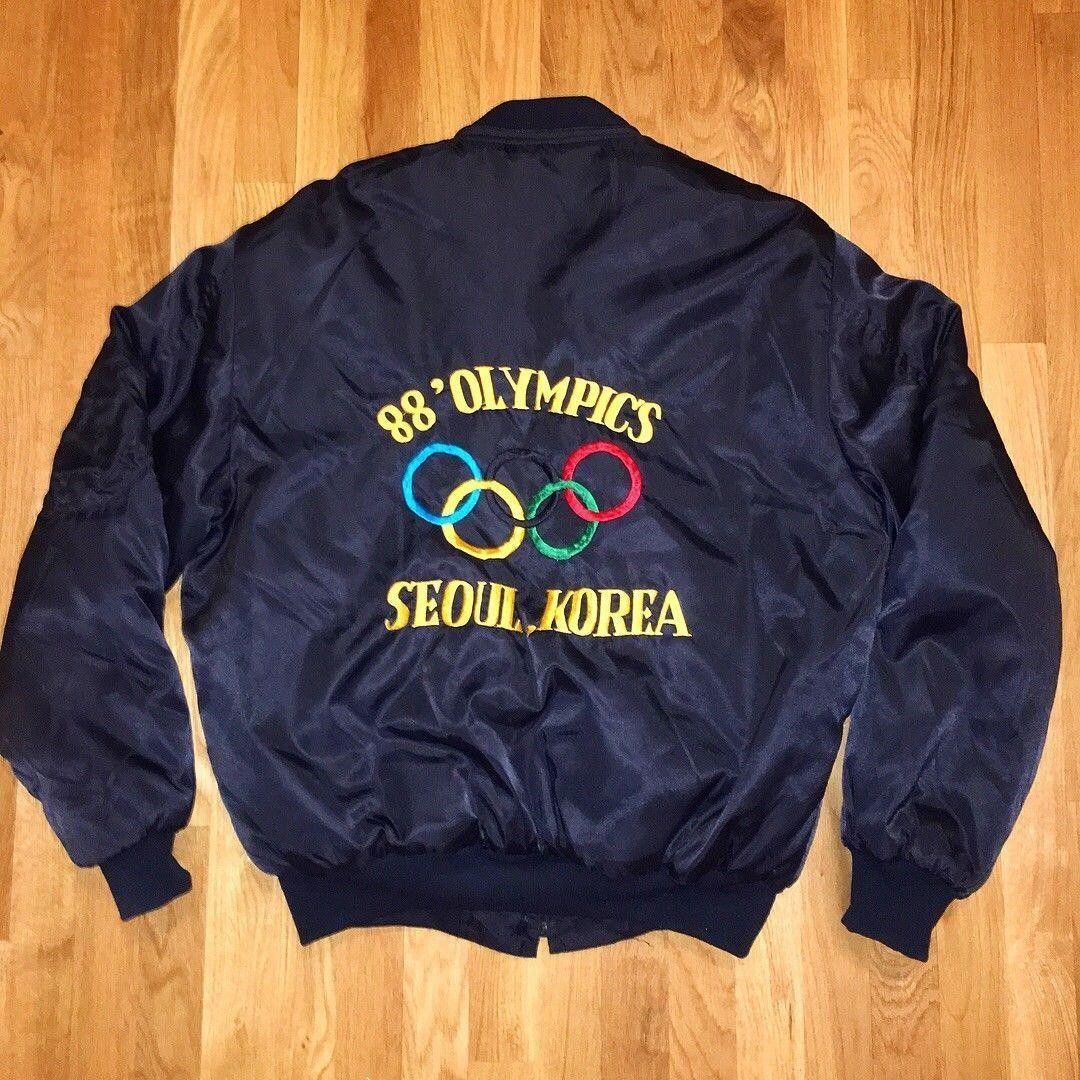 A vintage 1988 Seoul Olympics pullover   Vintage nike