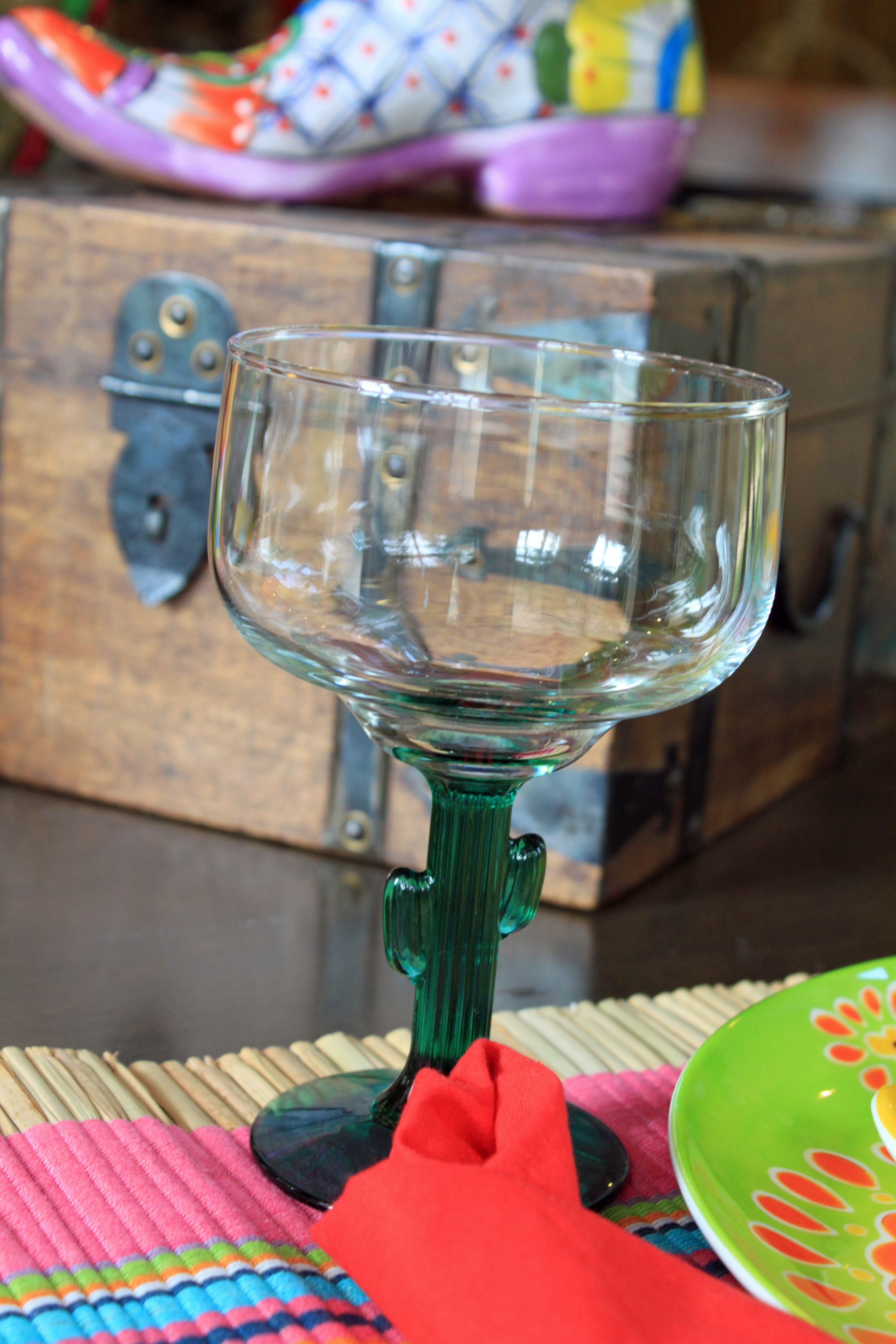Cactus Margarita Glasses Dollar Tree