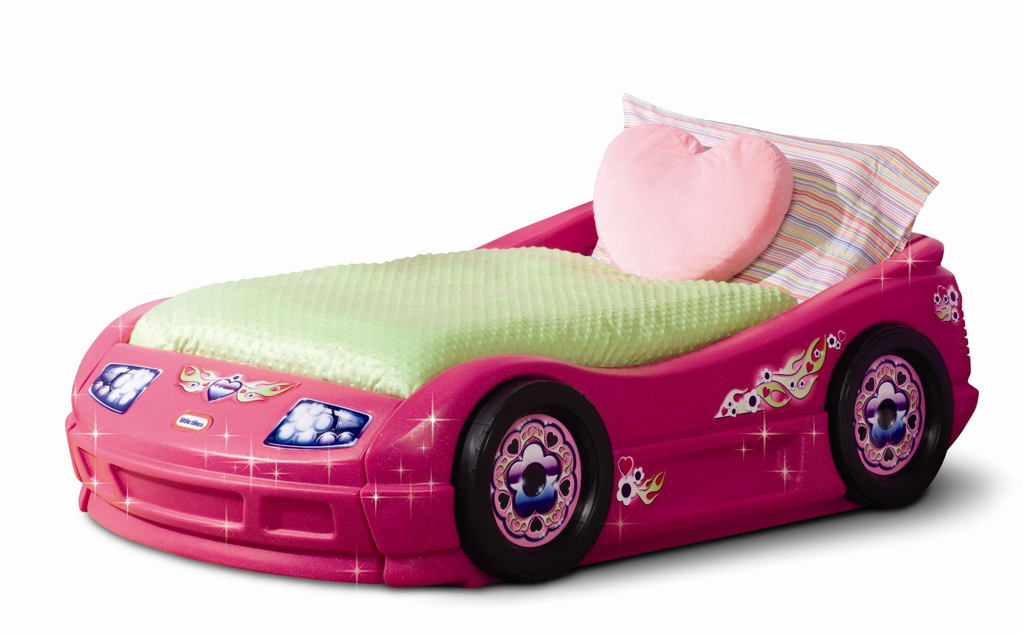 Little Tikes Princess Pink Toddler Roadster Bed Girls Like