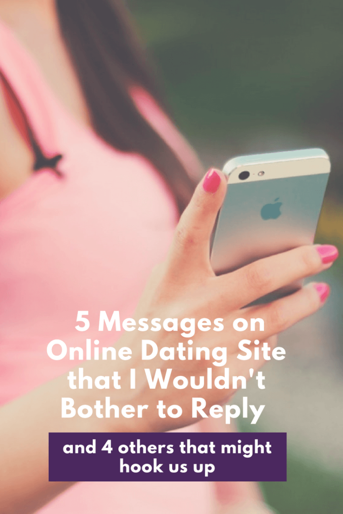 How to reply to messages on dating sites