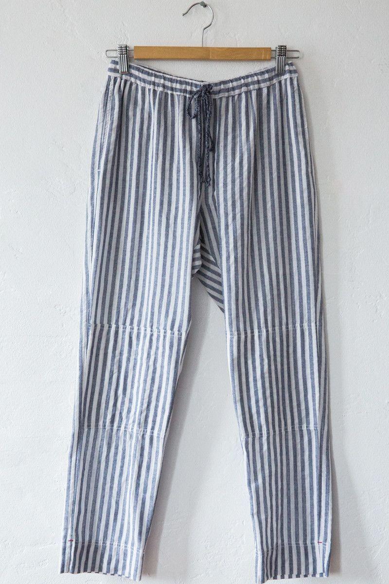 xirena blue stripe jasper pant