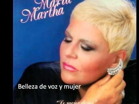 Echame a mi la culpa - Maria Martha Serra Lima - YouTube