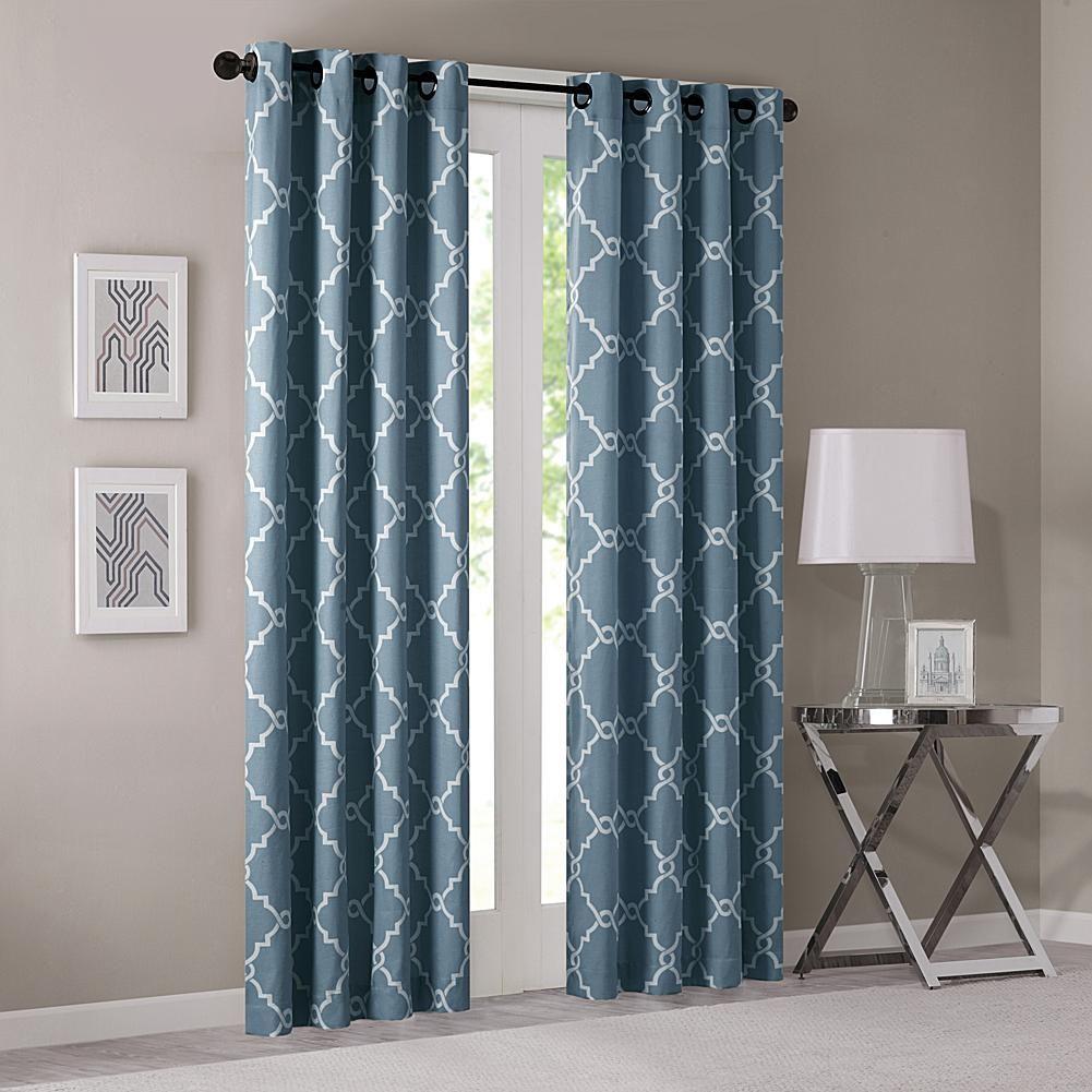 E and e co ltd madison park saratoga fretwork window curtain