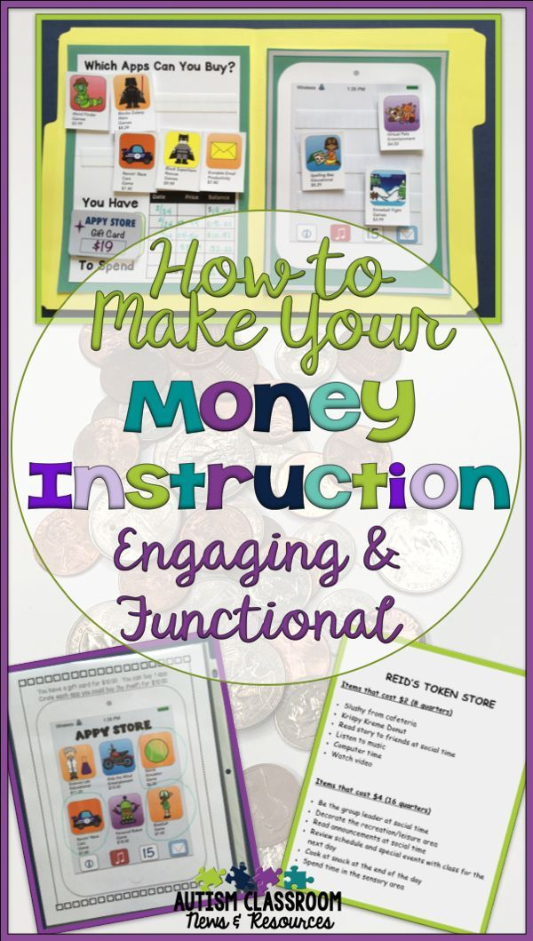 How To Make Your Money Instruction Engaging Functional Life Skills Classroom Life Skills Curriculum Special Education Math