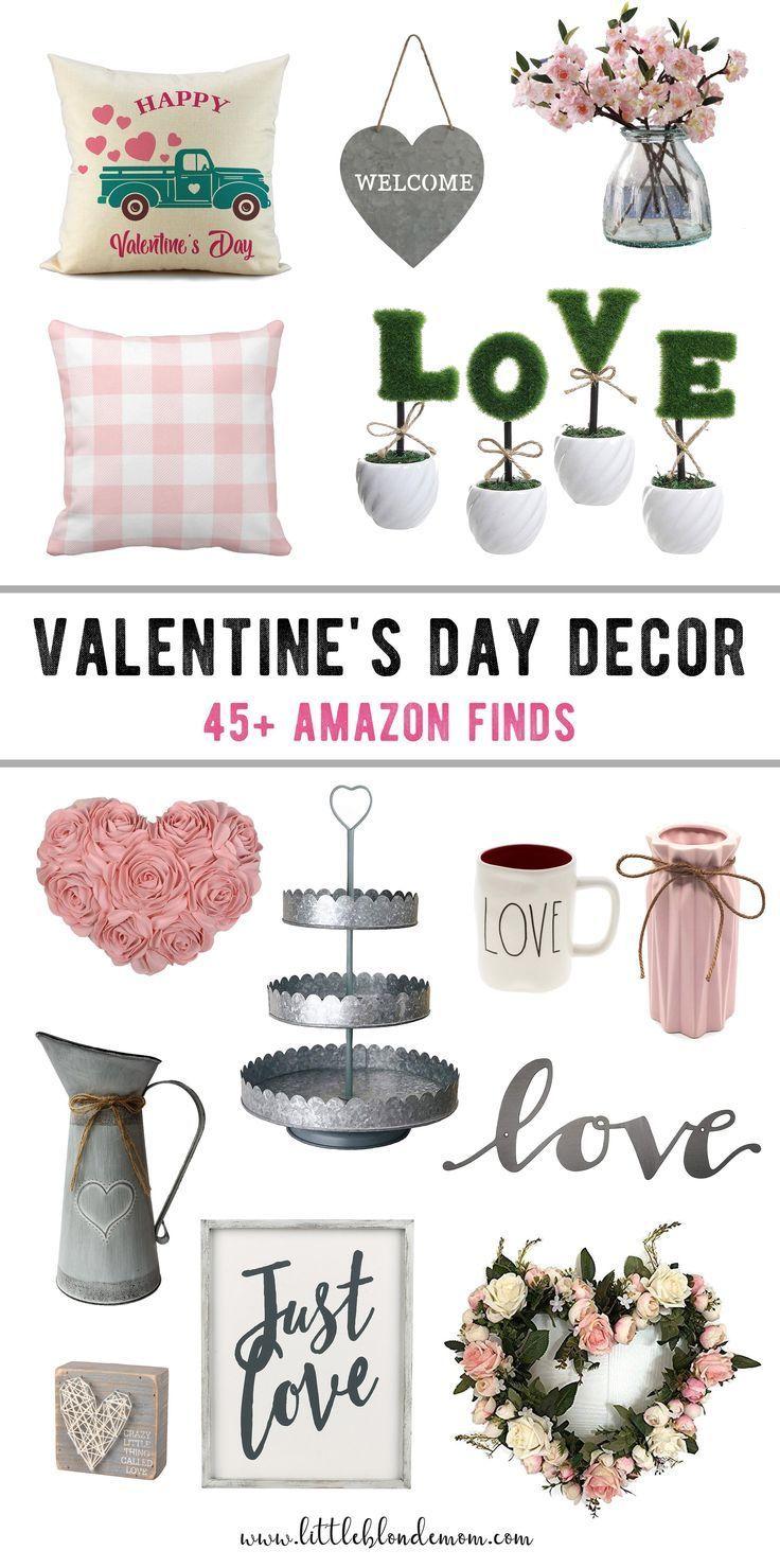 Cutest Valentine's Day Decor on Amazon - little blonde mom
