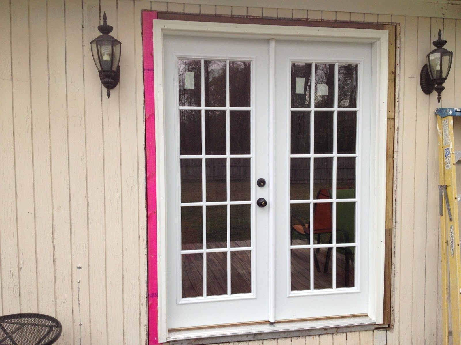 Prehung Double Exterior French Doors | http://thefallguyediting.com ...