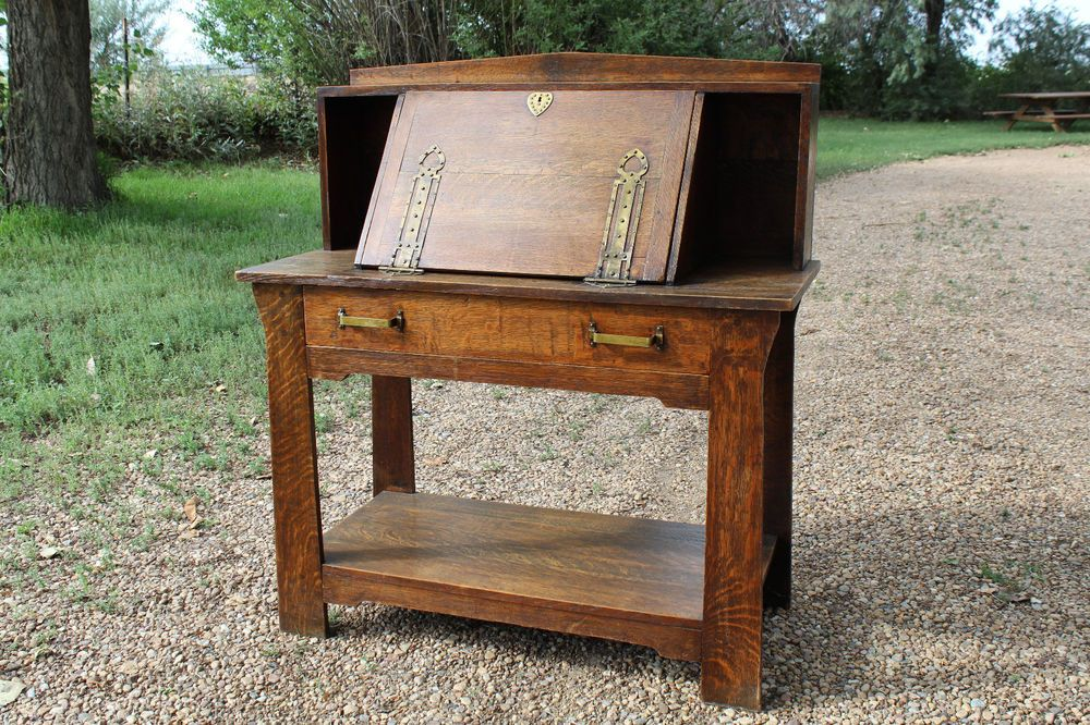 Oak Shop Of The Crafters Desk