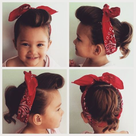 50 rockabilly toddler hair More Coiffure Rockabilly, Coiffure Enfant,  Bricolage Enfant, Coiffures Rétro