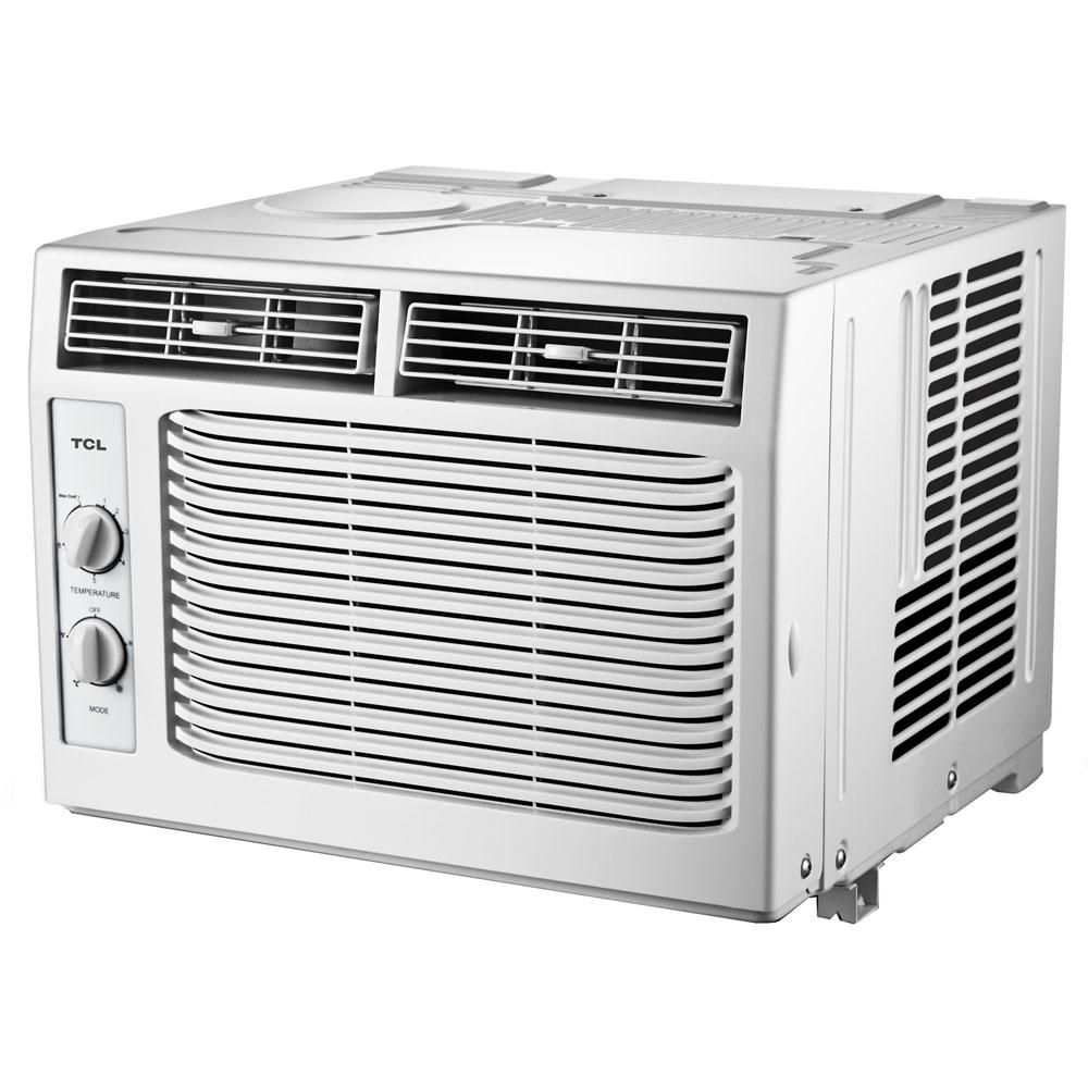 Tcl 5000 Btu Window Air Conditioner With Mechanical Controls In 2020 Window Air Conditioner Air Conditioner With Heater