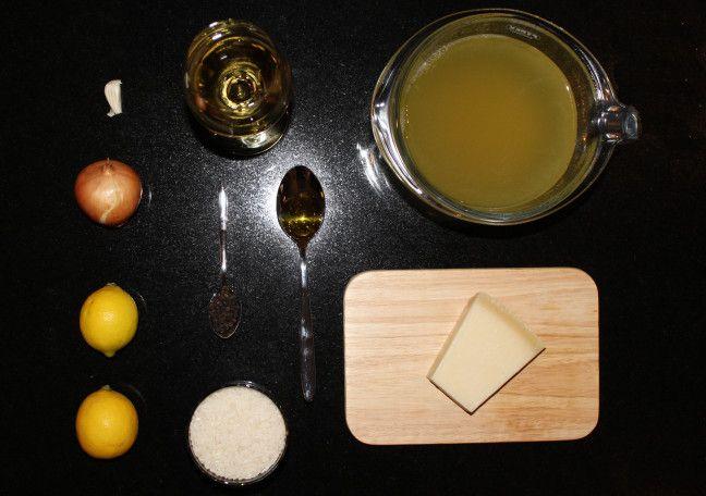 Zitronen Risotto