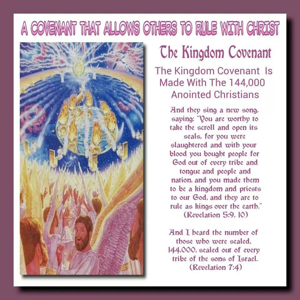 The Covenant Is Made up of 144,000 Anointed Christians ~ And they