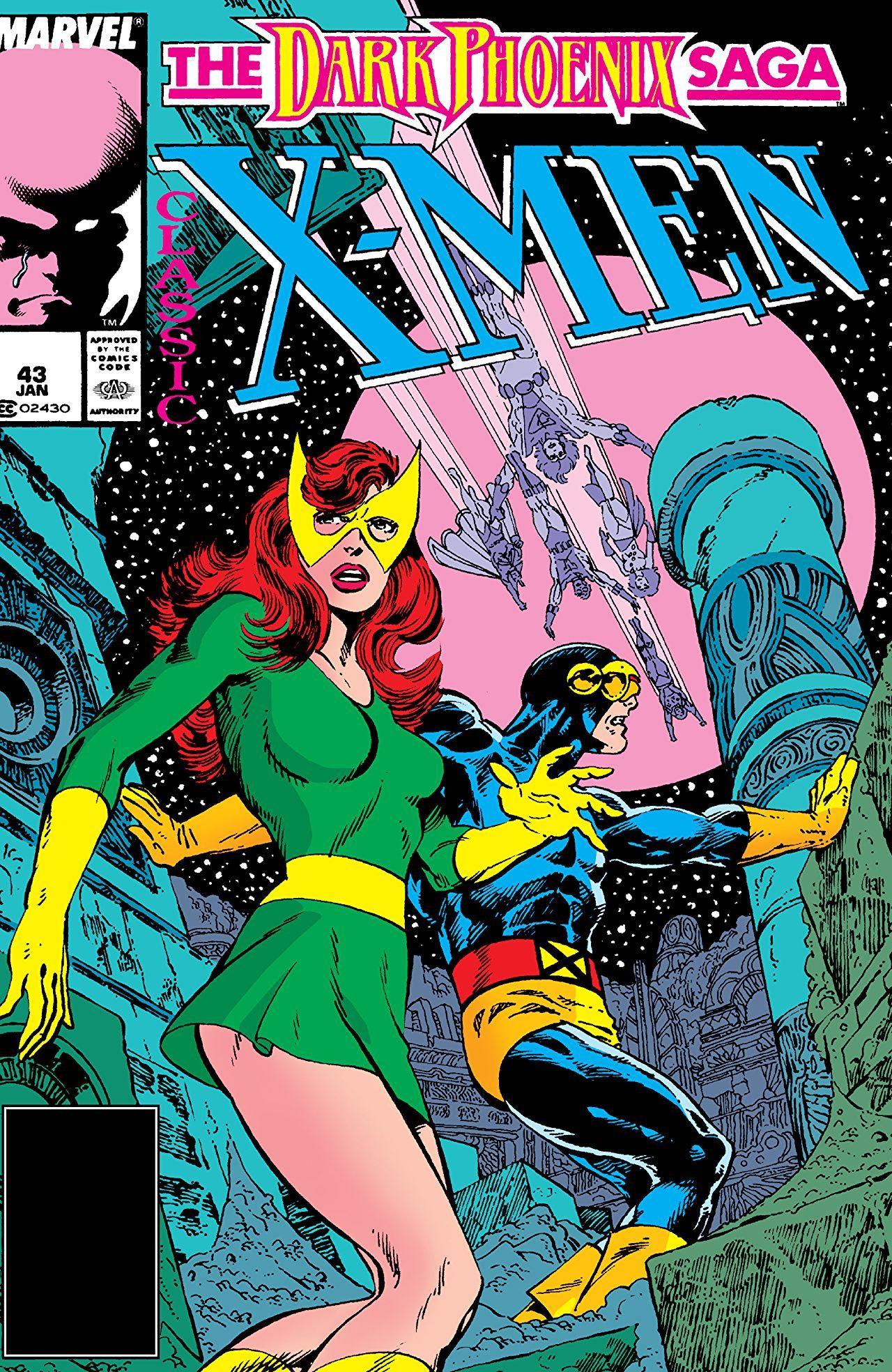 Classic X Men 1986 1990 43 Comics By Comixology In 2020 X Men Dark Phoenix Saga Comic