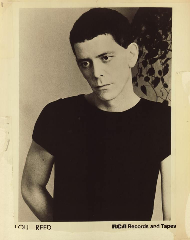 The wonderful Lou Reed in the 1970s.