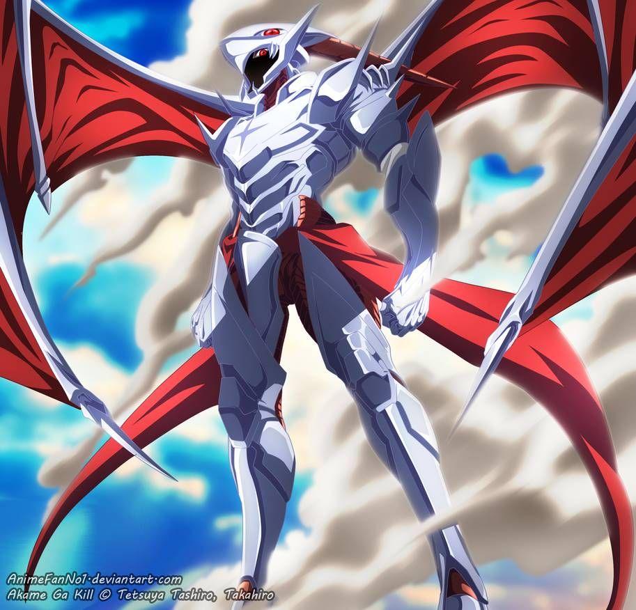Agk Tatsumi S Transformation By Animefanno1 Akame Ga Kill