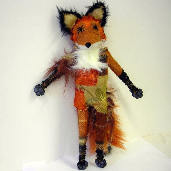 Charming fox by namelesswonders on Etsy, $40.00