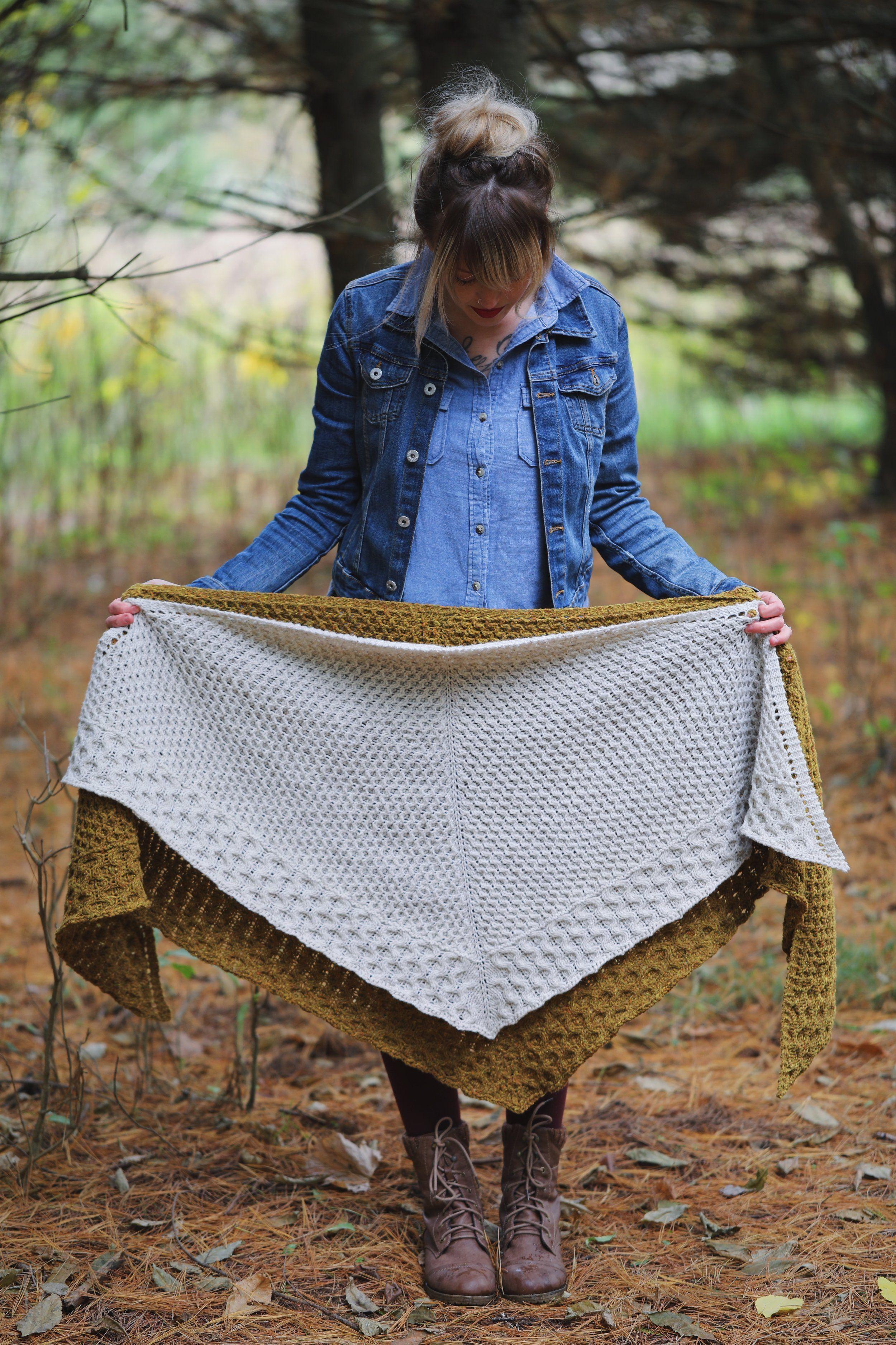 Winter Honey Shawl & Shawlette | Shawl, Winter and Knit shawls