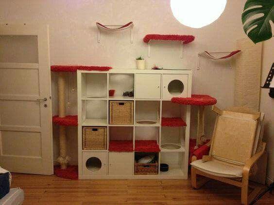 Mobili Per Gatti Ikea : Kattenmeubel van ikea kallax kast ideen katze