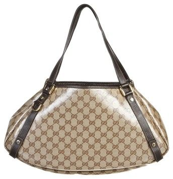 cd24f3d84f6c Gucci Monogram Crystal Handbag Hobo Bag. Hobo bags are hot this season! The  Gucci Monogram Crystal Handbag Hobo Bag is a top 10 member favorite on  Tradesy.