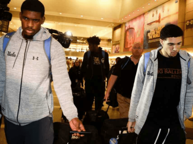 Three UCLA Basketball Players Suspended After Theft in China - Breitbart