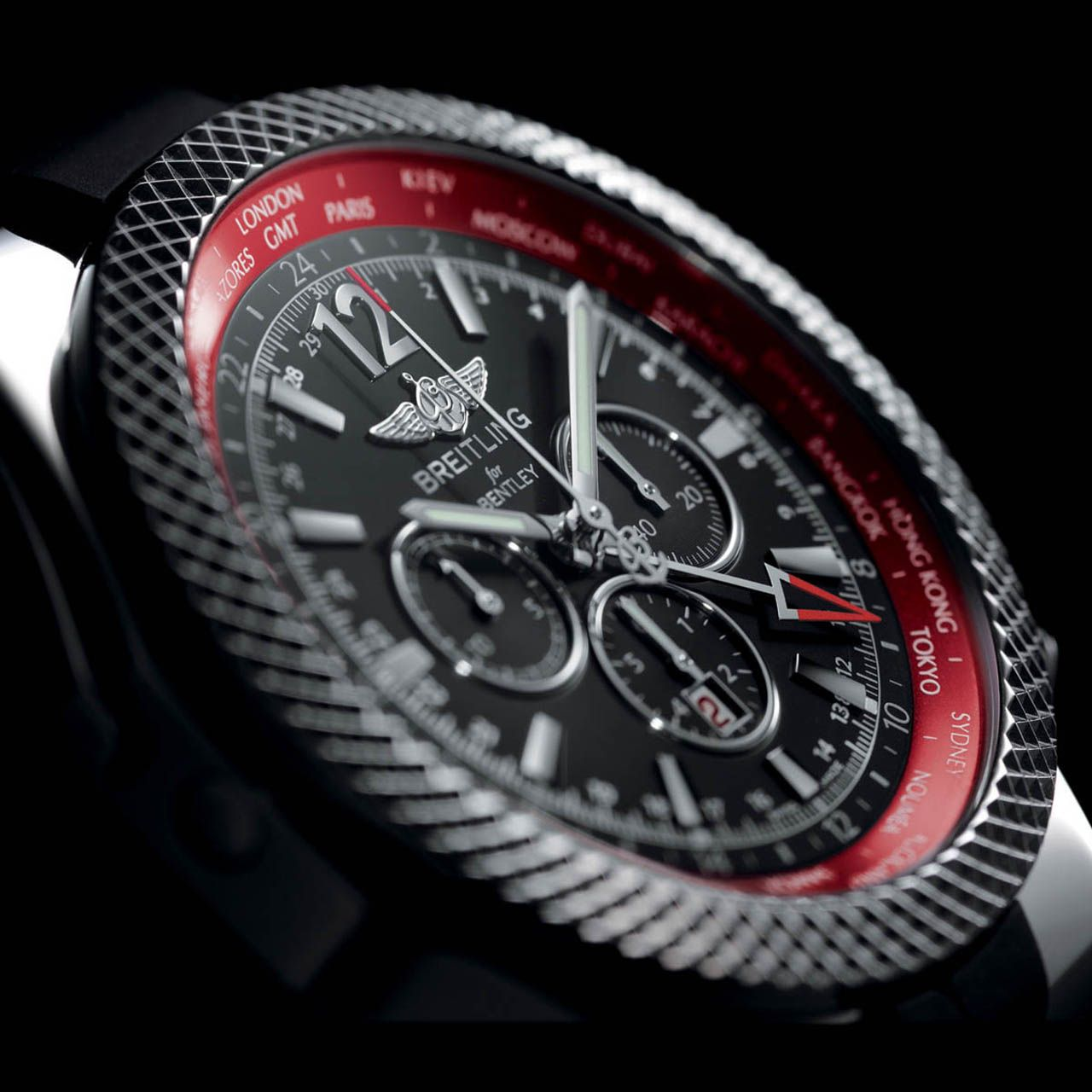 Breitling Bentley Continental Gt V8 Inspired Watch